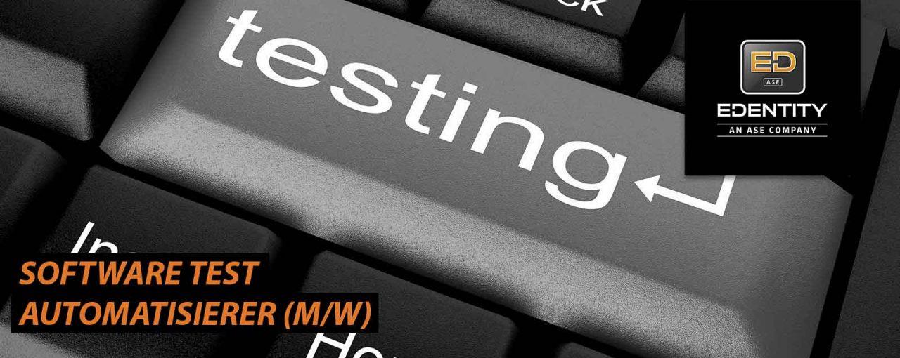 Software Test Automatisierer (m/w)